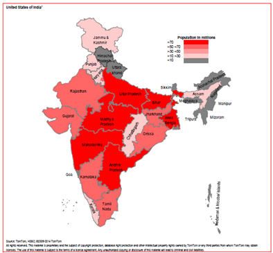 States Map HSBC