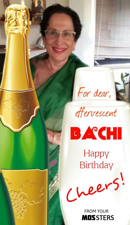 BACHI BIRTHDAY CARD